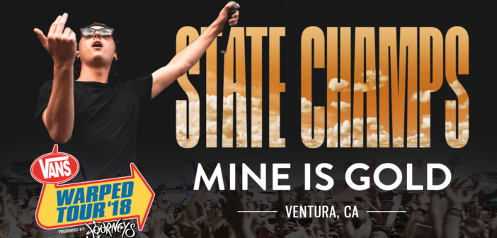 """State Champs – """"Mine Is Gold"""" LIVE! Vans Warped Tour 2018"""