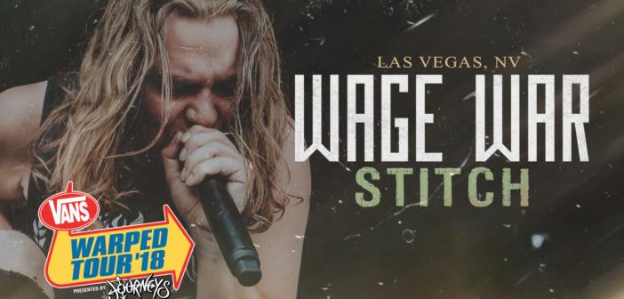 """Watch Wage War perform """"Stitch"""" LIVE at the final Vans Warped Tour"""